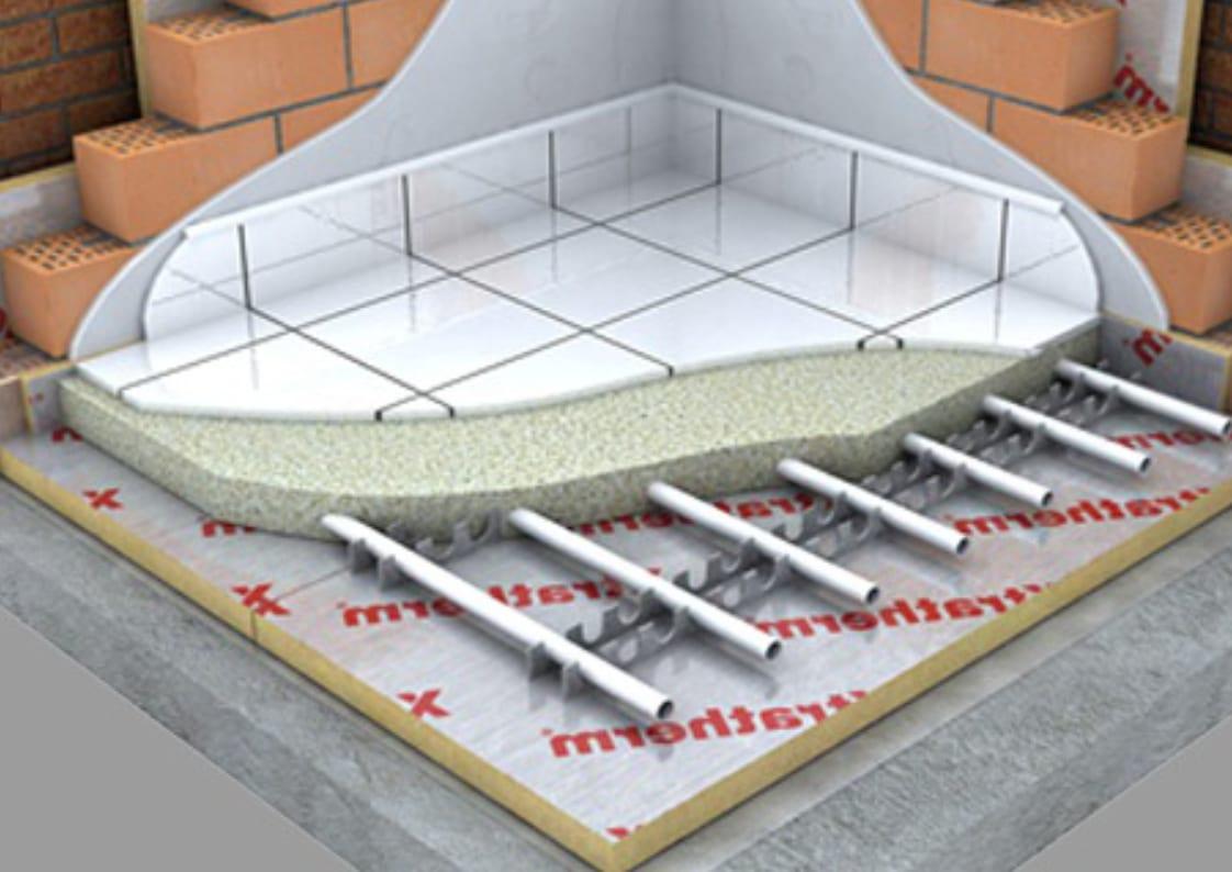 gemiddelde opbouw van vloerisolatie